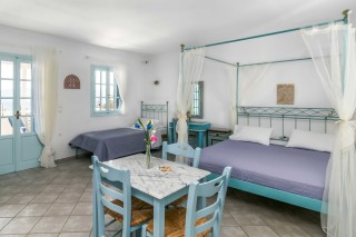 junior suite milos villa venus room